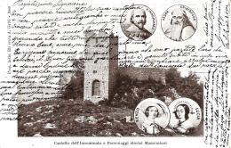 [DC9110] CPA - CASTELLO DELL´INNOMINATO E PERSONAGGI STORICI MANZONIANI - Viaggiata 1904 - Old Postcard - Fiabe, Racconti Popolari & Leggende