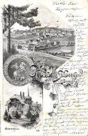 [DC9114] CPA - GRUSS AUS ST. GEORGEN - Viaggiata 1899 - Old Postcard - Souvenir De...