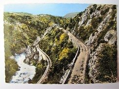 FRANCE - ARCECHE - LAMASTRE - Les Gorges De Doux - 1966 - Lamastre
