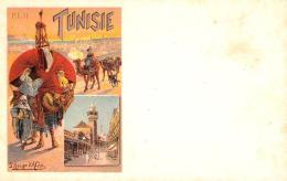 [DC9118] CPA - TUNISIE - P.L.M. - ILL. HUGO D'ALESI - Non Viaggiata - Old Postcard - Tunisia