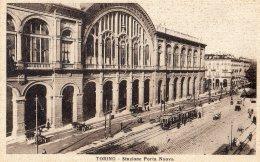 [DC9124] CPA - TORINO - STAZIONE DI PORTA NUOVA - ANIMATA - Non Viaggiata - Old Postcard - Stazione Porta Nuova