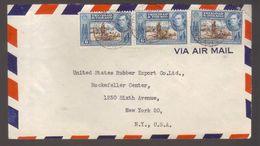 7278- Trinidad And Tobago , Cover To USA 1947  – - Trinidad & Tobago (...-1961)
