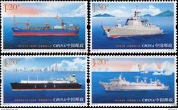 China PRC 2015-10 Ship Industries Of China Stamp - Fabriken Und Industrien