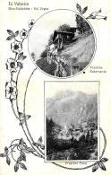 [DC9174] CPA - IN VALSESIA RIVA VALDOBBIA VAL VOGNA FRAZIONE RABERNARDA FRAZIONE PIANE - Viaggiata 1926 - Old Postcard - Vercelli