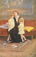 """[DC9182] CPA - OMAGGIO DELLA COMPAGNIA PIEMONTESE DEL TEATRO DEL POPOLO """"CASALEGGIO-PIVANO Viaggiata 1918 - Old Postcard - Teatro"""