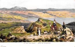 [DC9185] CPA -  LE MONT DES SALUTS - BERG DER SELIGKEITEN - Non Viaggiata - Old Postcard - Palestina