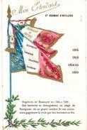 CPA N°8496 - MON ETENDARD - 3e REGIMENT D' ARTILLERIE - BESANCON 1764 A 1791 - AUSTERLITZ-SARAGOSSE-SEBASTOPOL-SOLFERINO - Regimenten