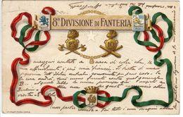 "FANTERIA - 8^ DIVISIONE - BRIGATA ""ALPI"" - ID-81.FN.V - Regimenten"