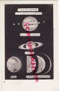 ASTRONOMIE- LES PLANETES A LA LUNETTE DE 160 MILLIMETRES- JUPITER ET SES SATELLITES-SATURNE-MARS-VENUS- CIEL - Astronomie