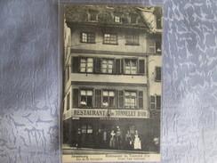 Strasbourg ; Restaurant Du Tonnelet D Or ; Prop Paul Schlosser ; Rue Du 22 Novembre - Strasbourg