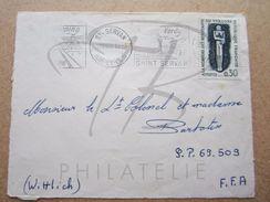 "VEND TIMBRE DE FRANCE N° 1336 , CACHETS "" ST-SERVAN "" , SEUL SUR FACADE !!! - Briefe U. Dokumente"