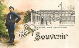 ALBERTVILLE - Souvenir, Quartier Parisot De La Boisse.carte Fantaisie. - Albertville