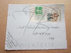 "VEND TIMBRES DE FRANCE N° 1231 + 1330 , CACHET "" SAINTE-ADRESSE "" , SUR FACADE !!! - Briefe U. Dokumente"
