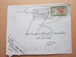 "VEND TIMBRE DE FRANCE N° 1339 , CACHET "" DENAIN "" , SEUL SUR FACADE !!! - Briefe U. Dokumente"