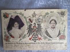 Zu Gunsten Der Witwen U Waisenstiftung D Els Lothr Krieger Landesverbandes  ; Rare;  Usures  ; Cachet Metz 1905 - Francia