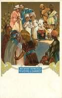 PUBLICITE - 100917 - ALIMENTATION PATES - MACARONI VERMICELLE RIVOIRE & CARRET Marmiton AFRIQUE EXPO COLONIALE MARSE - Advertising