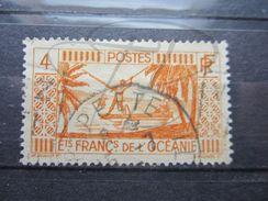 """VEND BEAU TIMBRE DES ETABLISSEMENTS FRANCAIS DANS L'OCEANIE N° 87 , OBLITERATION """" PAPEETE """" !!! - Oceanía (1892-1958)"""