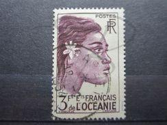 """VEND BEAU TIMBRE DES ETABLISSEMENTS FRANCAIS DANS L'OCEANIE N° 193 , OBLITERATION """" PAPEETE """" !!! - Oceanía (1892-1958)"""