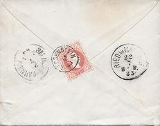 1883 Austria - Impero Austro-Ungarico - Tirolo - Alta Austria - Ried Im Innkreis - Covers & Documents