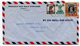 Kuwait 22-8-1944 ? Luftpostbrief - Koweït