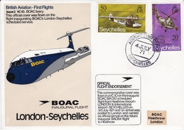 VC10>BOAC>LONDON>SEYCHELLES - Airplanes