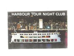 Tabac , Boite D'ALLUMETTES, 2 Scans, HONG KONG , Bateau , Pearl Of The Orient , Harbour Tour Night Club , 2 Scans - Boites D'allumettes