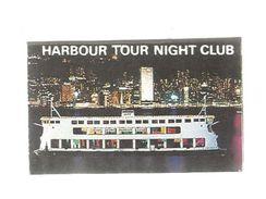 Tabac , Boite D'ALLUMETTES, 2 Scans, HONG KONG , Bateau , Pearl Of The Orient , Harbour Tour Night Club , 2 Scans - Matchboxes