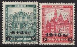 """463, """"Nothilfe"""", 1932, Aufdruck, Sauber Gestempelt, O - Deutschland"""