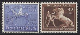 """698/9, """" Blaues Band"""",""""Braunes Band"""", 1939, Je Kleiner Falzrest, * - Deutschland"""