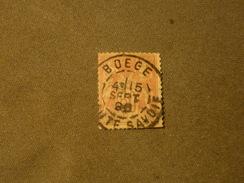 FRANCE -  BOEGE   Sage     Obliterations  Haute-Savoie - 1876-1898 Sage (Type II)