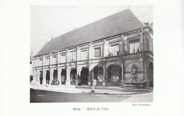 1914 - Iconographie - Gray (Haute-Saône) - L'hôtel De Ville - FRANCO DE PORT - Vieux Papiers