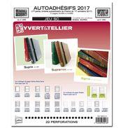 Jeu France Yvert SC Autoadhésif Supra 2017 1ere Partie Sortie Le 15 Septembre - Albums & Reliures