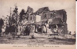 80 FRISE -- L'église En Ruines -- Campagne 1914 - 1917 - Altri Comuni