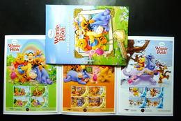 Thailand Personalized Stamp 2013 Disney Winnie The Pooh (3) - Thailand