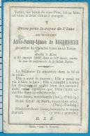 Bp    De Bagenrieux   De La Roche   Mons - Images Religieuses