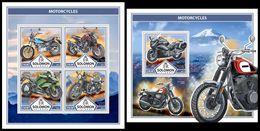 SOLOMON Isl. 2017 - Motorcycles. M/S + S/S - Motorbikes