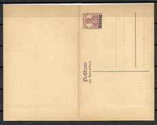 Deutschland DANZIG Ca 1920 Ganzsache Mit Antwortkarte Stationery Ungebraucht/sauber - Danzig