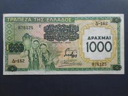 Greece 1000 Drachmai 1939 - Greece