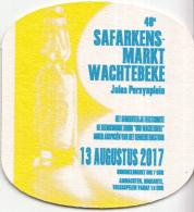 België - 13 Augustus 2017 - 40e Safarekensmarkt Wachtebeke - Ongebruikt - Bierviltjes