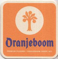 Nederland - Oranjeboom - Gespot In De Uitgids - BNDe Stem - Ongebruikt - Bierviltjes