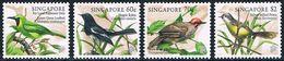 Singapour - Oiseaux Chanteurs 849/852 ** - Passereaux