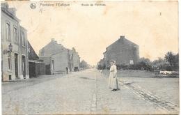 Fontaine-l'Evêque NA37: Route De Forchies 1907 - Fontaine-l'Evêque