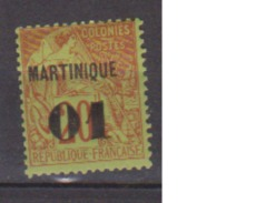 MARTINIQUE            N° YVERT  :   3     NEUF AVEC CHARNIERES       ( Ch  845  ) - Martinique (1886-1947)