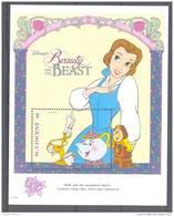 NctA179 WALT DISNEY BELLE EN HET BEEST LUMIERE CHIP MRS. POTTS COGSWORTH BEAUTY AND THE BEAST ST. VINCENT 1992 PF/MNH - Disney
