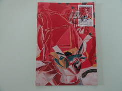 CARTE MAXIMUM CARD PEINTURE DE MORITZ NEY LUXEMBOURG - Modern