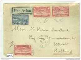 MAROKKO * Morocco * LP * BRIEFOMSLAG GELOPEN IN 1939 VAN  Port Lyautey  Naar UTRECHT  (10.432) - Marokko (1956-...)