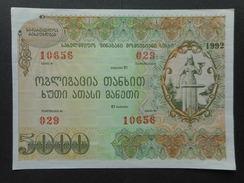 Georgia 5000 Rubles 1992 (Bond) - Géorgie
