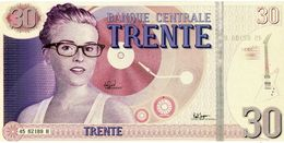 BANQUE CENTRALE TRENTE - Grand Optical Année 2010 - Format 10X21 Cm. - Fictifs & Spécimens