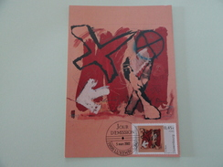 CARTE MAXIMUM CARD PEINTURE DE DANY PRUM LUXEMBOURG - Modern