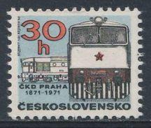 Tschechoslowakei Czechoslovakia 1971 Mi 2021 - Class T478.3 Diesel Locomotive - Cent. Prague C.K.D. Locomotive Works - Treinen